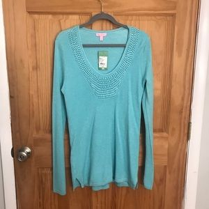 NWT Lilly Pulitzer Roberts Tunic Sweater Large